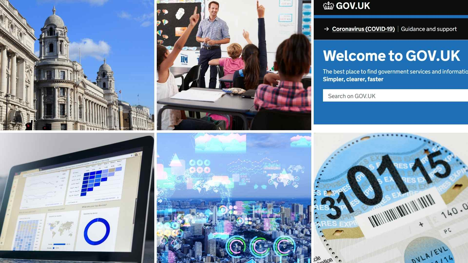 How does the public sector use data